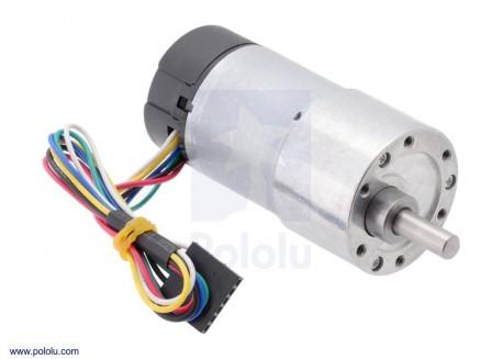 Motor con reductora 70:1 con encoder