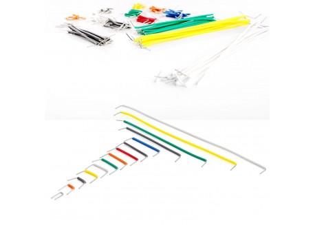 Kit 140 cables puente para prototipado