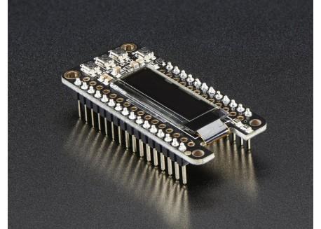 Adafruit OLED FeatherWing 128x32