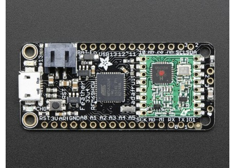 Adafruit Feather 32u4 con RFM69HCW (433MHz)