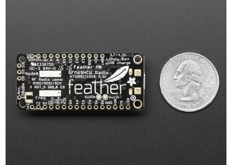 Adafruit Feather M0 RFM69HCW (433MHz)
