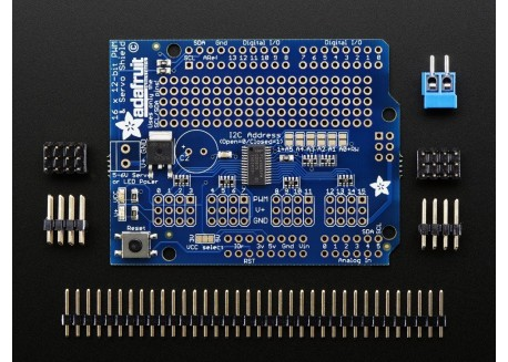 Adafruit Servo Shield 16 canales 12-bits