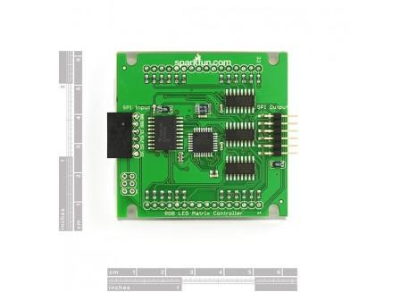 Matriz de LED R/G mediana con interfaz série