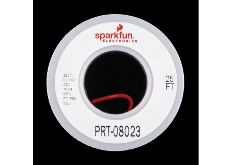 Bobina de cable de prototipo - Rojo