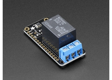 Adafruit Relay FeatherWing (5A)