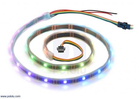 Tira de LED 1 metro 30 LEDs (APA102C)