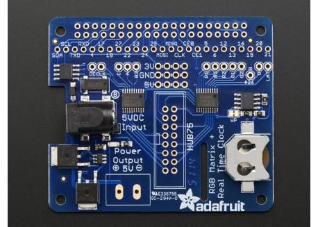 Adafruit RGB Matrix HAT/RTC para Raspberry Pi