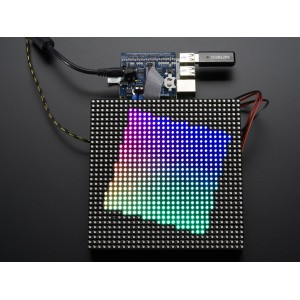 Adafruit RGB Matrix HAT/RTC para Raspberry Pi