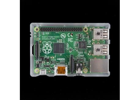 Caja para Raspberry Pi Model B+, Pi 2 Model B y Pi 3