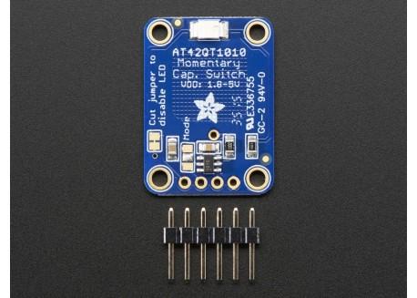 Pulsador capacitivo AT42QT1010