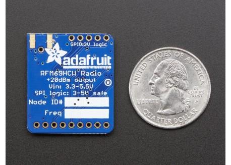 Adafruit RFM69HCW (433 MHz)