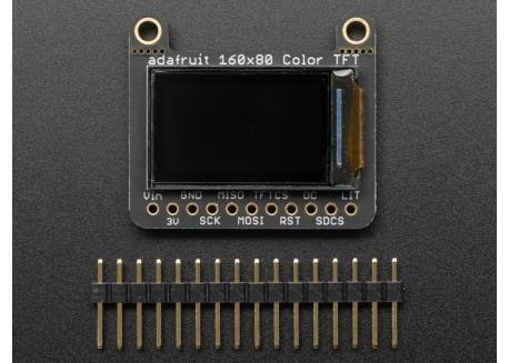 """Pantalla LCD Color 160x80 (0.96"""") con MicroSD"""