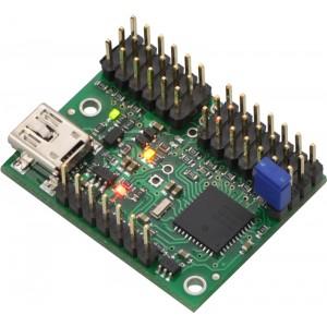 Controlador servos Mini Maestro USB (12 canales)