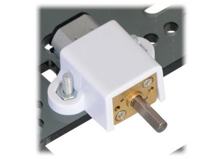 Motor micro metal 30:1 HP con eje extendido