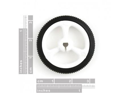 Rueda de goma 32x7mm (2 und)