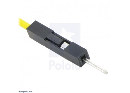 Conector tipo DuPont 1x1 (25 unidades)