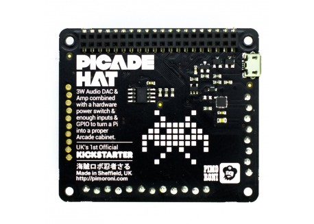 Raspberry Picade HAT