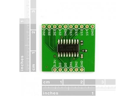 Multiplexador serial TS3A5017