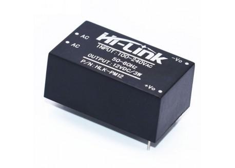 Mini transformador 220V, 12V, HLK-PM12
