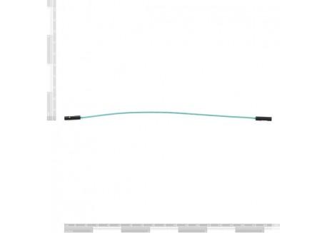 Set de cables Hembra / Hembra 30cm (100 Unid.)