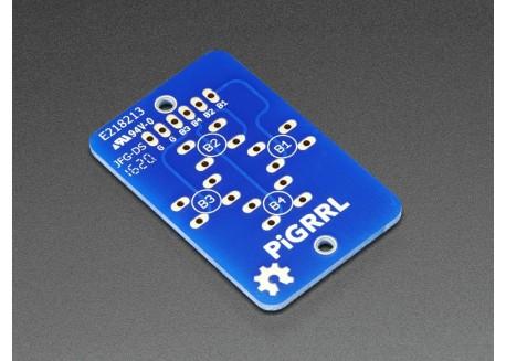 PiGrrl Gamepad PCB - 4 botones