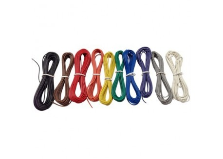 Juego de Cables - 10 colores 60m (AWG24)
