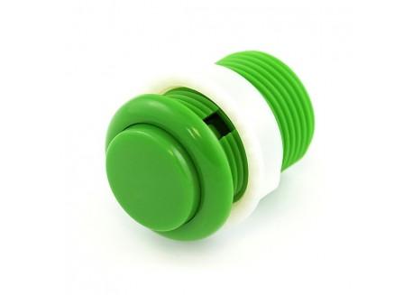 Boton pulsador Arcade verde