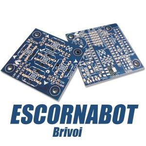 Placas PCB para Escornabot Brivoi