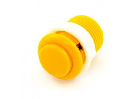 Boton pulsador Arcade amarillo