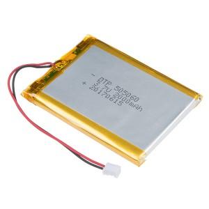 Batería Lipo 2000mAh / 3.7V - 505060