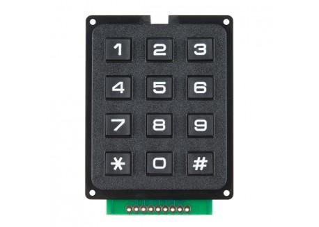 Teclado Matricial de 12 botones