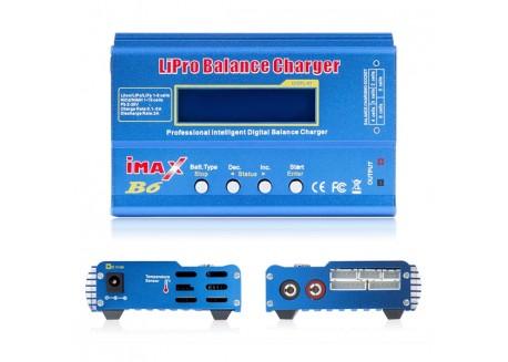 Cargador Balanceador IMAX B6 de 80W y Alimentador de corriente