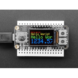 Adafruit Mini TFT Color FeatherWing con Joystick