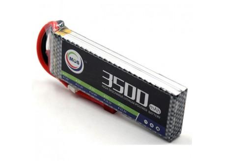 Batería Lipo 3500mAh 2S 25C, 7.4V