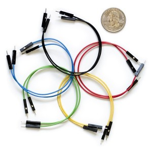Set de cables Macho / Macho 15cm (10 Unid.)