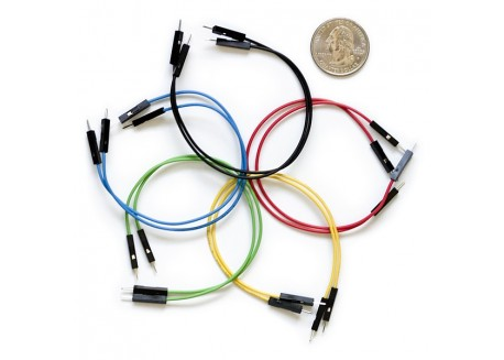 Set de cables M/M (10 Unid.)
