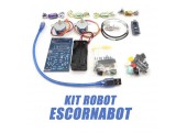 Kit Componentes Robot Escornabot Singularis v2.12
