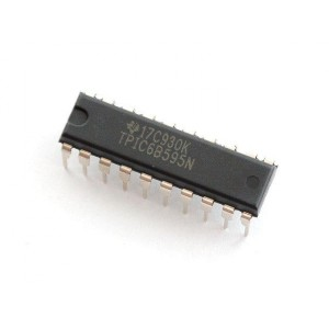 Shift Register 8-Bit de alta potencia - TPIC6B595