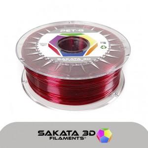 Filamento PET-G Rubí - 1Kg (1.75mm)