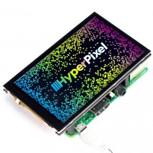 Pantalla HyperPixel 4.0 para Raspberry Pi (táctil)