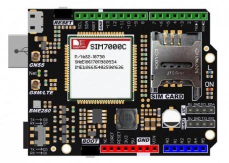 Shield LTE/GPS SIM7000E para Arduino