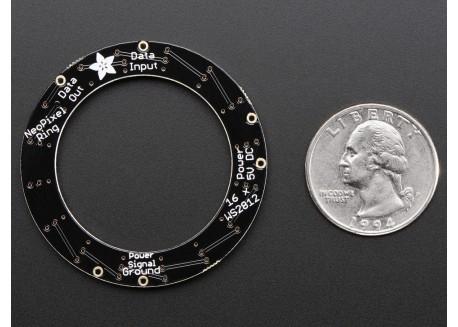 Anillo NeoPixel - 16 LEDs (WS2812)
