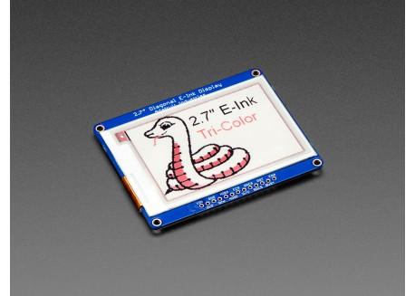 Adafruit 2.7' E-Paper - 3 colores con SRAM