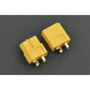Conectores XT60 macho y hembra