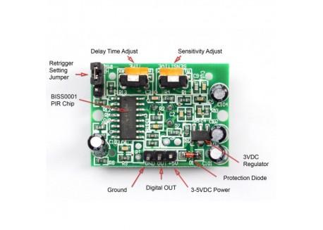Módulo sensor PIR