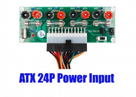 Placa salidas alimentación ATX