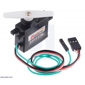 Mini servo FEETECH 3.5kg FT1117M-FB con feedback