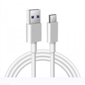 Cable USB Tipo-C de carga Rápida 5A - 1 Metro