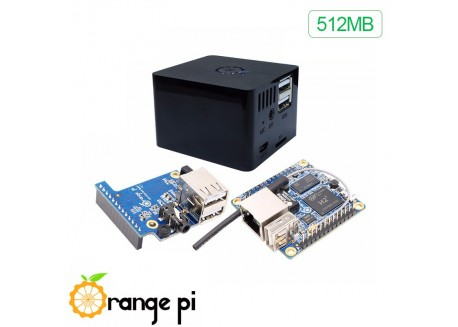 Kit Orange Pi Zero 512MB con caja