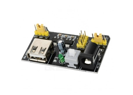 Modulo alimentación para protoboard MB-102